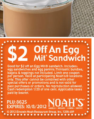 $2 Off Egg Mit Sandwich