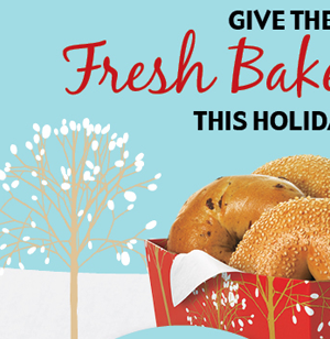 Give the gift of fresh baked goodness this holiday season