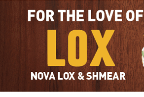 FOR THE LOVE OF LOX